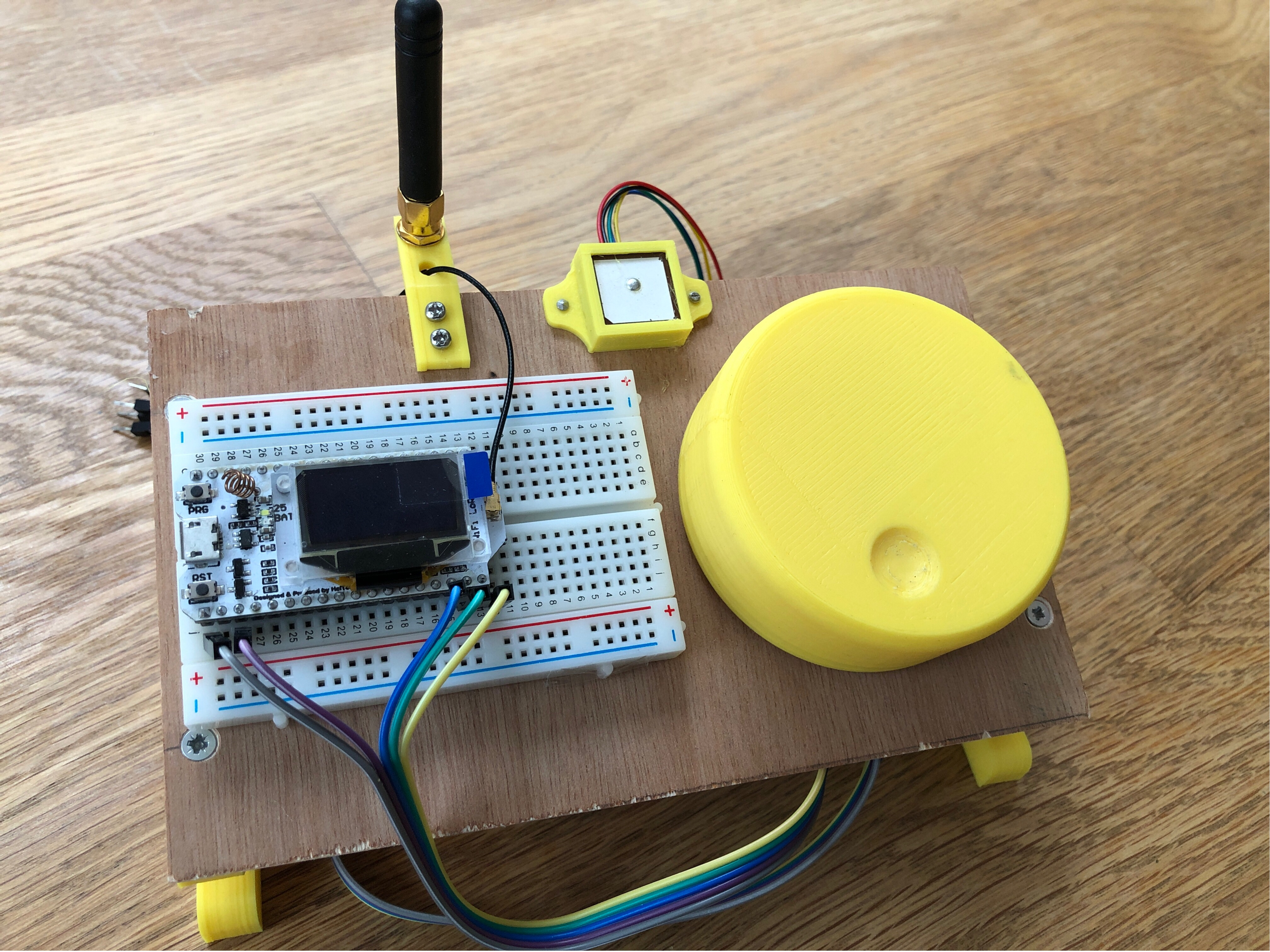 ESP32 LoRa GPS Range Tracker – Part 1 – Simple Stuff Matters